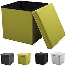 Sitzbox SADOA, mit Espacio de almacenamiento, plegable, 40x40cm, 4 Colores - Lima, 40x40x40cm (BxTxH)