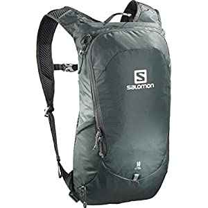 41F7DVHoEkL. SS300  - Salomon Lightweight Hiking and Cycling Backpack, 10 Litre, Trailblazer 10, Urban Chic, LC1085400
