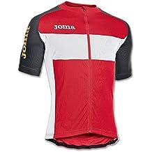 Joma - Maillot tour rojo m/c para hombre