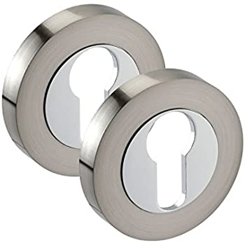 Euro Cylinder Escutcheon Available in Different Finishes Single piece