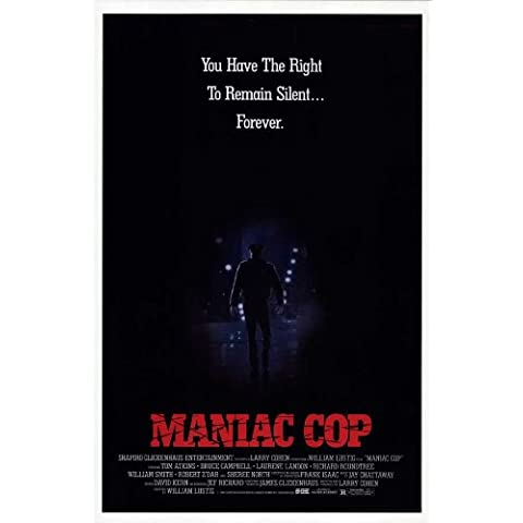 Cop Maniac C Film Poster, 69 x 102 cm