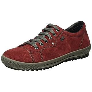 Rieker Damen M6104 Sneakers, Rot (Wine / 36), 38 EU