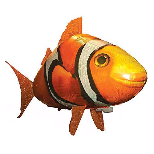 JOSE9A Der ferngesteuerte Flying Shark oder Clownfish fliegt durch den Raum