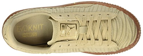 Puma Basket Platform OW, Scarpe da Ginnastica Basse Donna Beige (Safari-safari-whisper White)