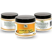 shealite Crema Acido Ialuronico e Vitamina C–clinica Forza–Riduce il segno dell' invecchiamento, Linee Sottili e Rughe, Idratante e rigenera la pelle–Ideale per tutti i tipi di pelle
