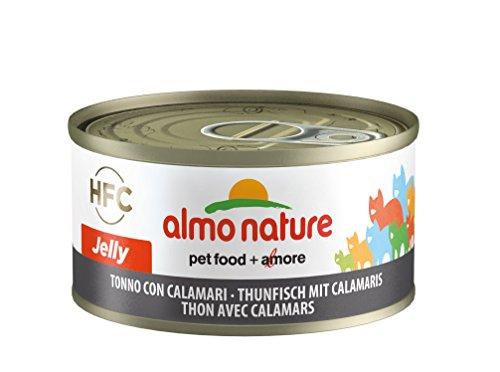 almo nature HFC Jelly Katzenfutter - Thunfisch mit Calamaris 24x70 g