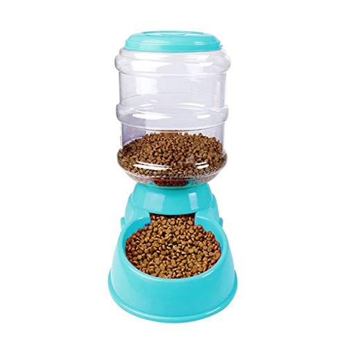 Floridivy 3.5L Pet Gravity Automatischer Selbst Spender-Nahrungsmittelzufuhr/Waterer Trinkbrunnen Wieder auffüllen