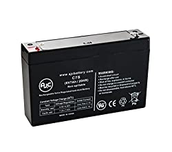 AJC Battery National NB6-7 Sealed Lead Acid - AGM - VRLA Battery - This is an AJC Brand Replacement