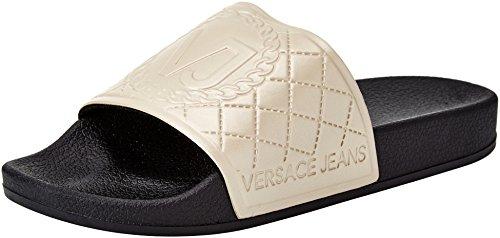 Versace Jeans Damen Scarpa Zehentrenner Oro (Oro)