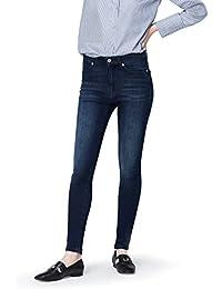 Amazon-Marke: find. Damen Skinny Jeans mit hohem Bund