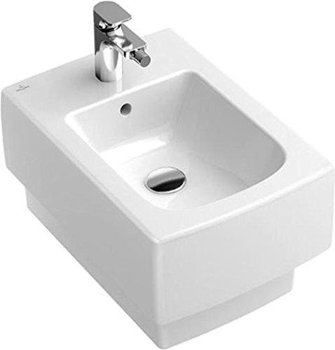Villeroy + Boch Bidet Memento 542800 375x560 Weiß Alpin New Glory Ceramicplus, 542800U7