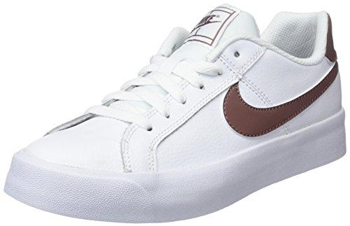 Nike Wmns Court Royale AC, Scarpe da Tennis Donna, Multicolore (White/Smokey Mauve 101), 38.5 EU