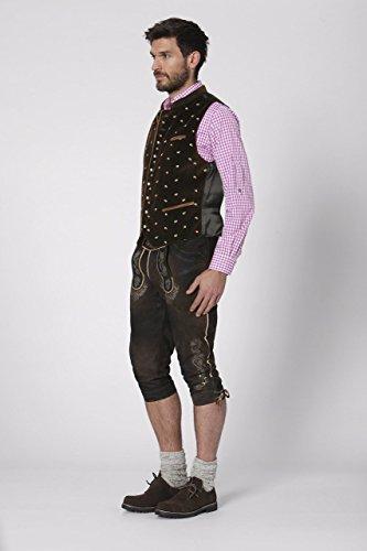Stockerpoint - Herren Trachten Weste in verschiedenen Farbtönen, Calzado, Größe:46, Farbe:Braun - 3