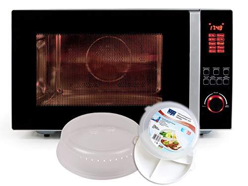 Micro-ondes combiné avec grill et convection, 42l, avec set de démarrage 5 pièces-