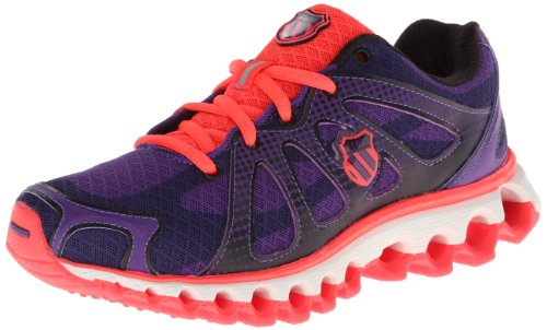 K-Swiss Performance TUBES RUN 130 P 93113-572-M Damen Tennisschuhe, Violett (Majestic Purple/Neon Red), EU 37.5 (UK 4.5) (K-swiss Purple Schuhe)
