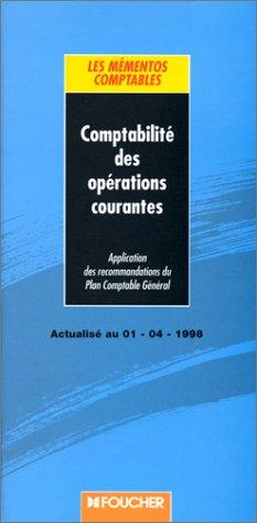 Comptabilité des opérations courantes
