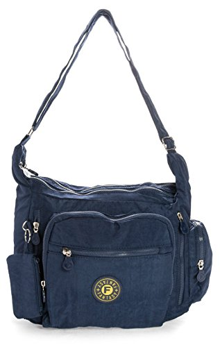 Big Handbag Shop, Borsa a tracolla donna One Blu (blu)