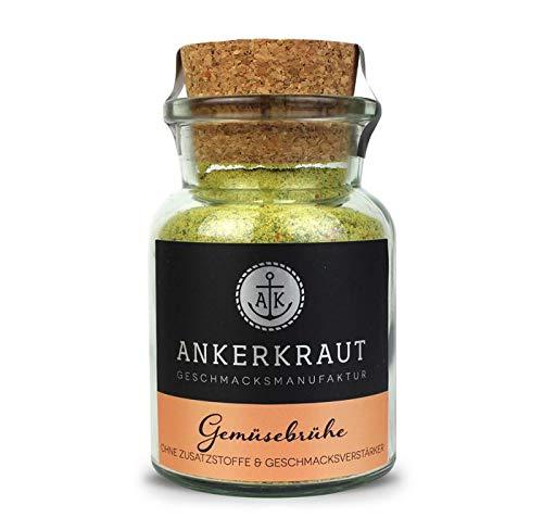 Ankerkraut Gemüsebrühe, 90g im Korkenglas, Mischung würzender Zutaten für Brühe