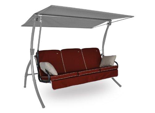 Angerer Primero Style Schaukelauflage Style, Terracotta, 3-Sitzer