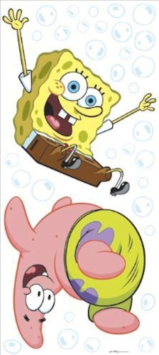 spongebob-squarepants-accent-stickers-bubble-bounce-wall-art