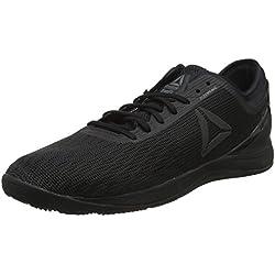 Reebok R Crossfit Nano 8.0, Zapatillas de Deporte para Hombre, Negro (Black/Black/Black 000), 41 EU