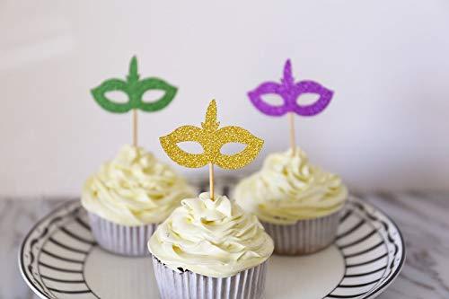 cake Toppers Maskerade Party Geburtstag Party Kostüm Junggesellenabschied Party Elegant und Romantisch ()