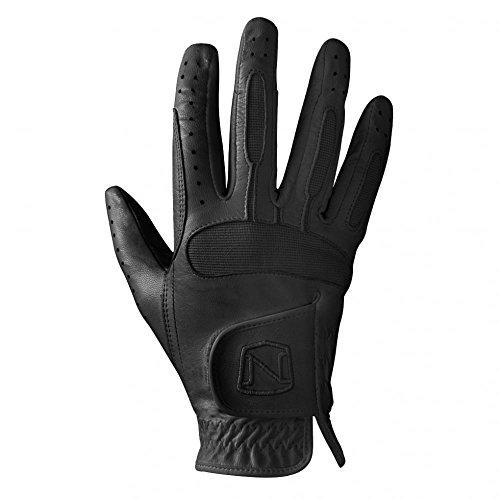 Noble Outfitters Show Bereit Leder Handschuhe- schwarz oder weiß - Schwarz, 8