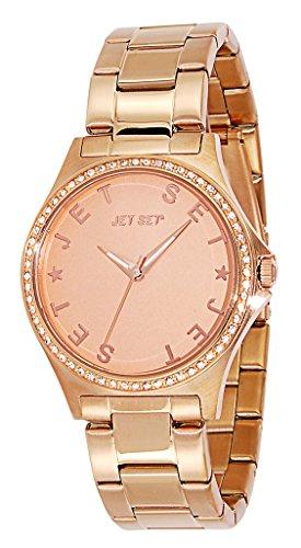 Jet Set - J7432R-062 - Beverly Hills - Montre Femme - Quartz Analogique - Cadran Rose - Bracelet Acier Rose
