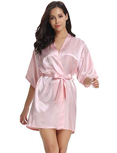 Vlazom Womens Kimono Robes Dress...