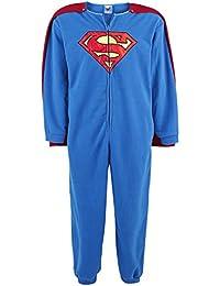 Superman Caped Overall Combinaison bleu