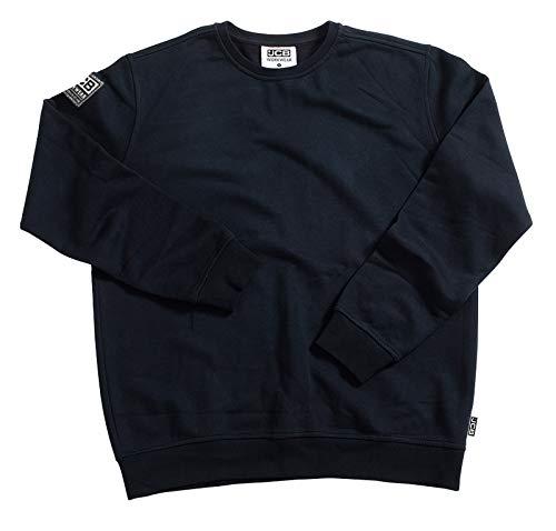 JCB Workwear Basic Sweatshirt, 80% Baumwolle / 20% Polyester, XXL, Schwarz 20% Polyester Sweatshirt