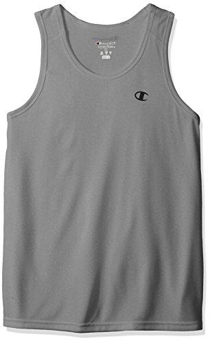 Champion - Maglietta sportiva - Senza maniche  -  uomo Oxford Gray