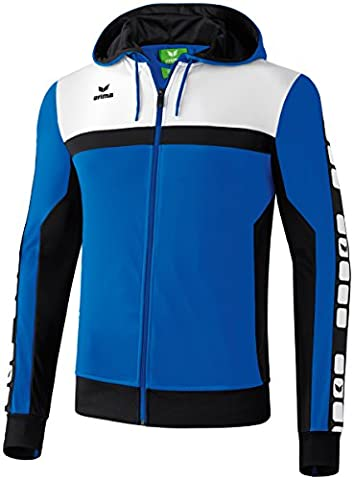 ERIMA Men's Classic 5-Cubes Training Jacket with Hood - New