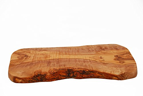 Tamaño grande madera olivo cortar/servir/tabla cortar