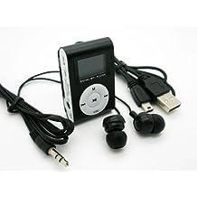Reproductor Mp3 Mini Clip con RADIO FM Lcd Cable Usb Auriculares SmFRUIT 2173fmn y tarjeta de 8gb