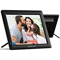 APEMAN Digital Photo Frame, 8 Inch 4:3 High Resolution IPS Screen Digital Picture Frames Display MP3/Video Player…