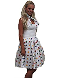 CIN 22' or 26' Children in Need Rock and Roll Skirt Full Circle skirt and neck scarf