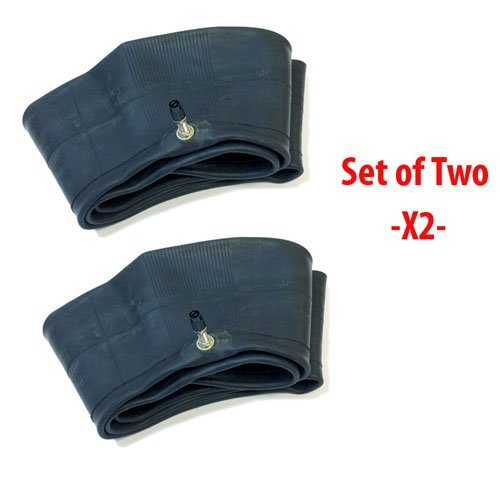 SET OF TWO: Motorcycle Inner Tube 2.50/2.75-12 | 3.00-12 | 80/90-12 Off Road Motorcycle Tire Inner Tube - TR4 Straight Valve Stem by MMG