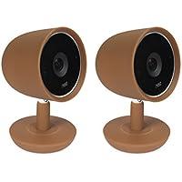 coloré Coques en silicone pour Nest Cam IQ Caméra de sécurité; Camouflage et Complétez Nest Cam IQ Plus Camera dans vos Couleurs préférées–par Wasserstein