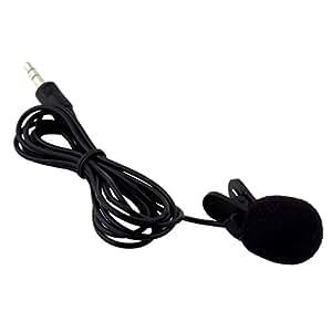 Sorella'z Portable Mini 3.5mm Tie Lapel Lavalier Clip Microphone For Lectures Teaching