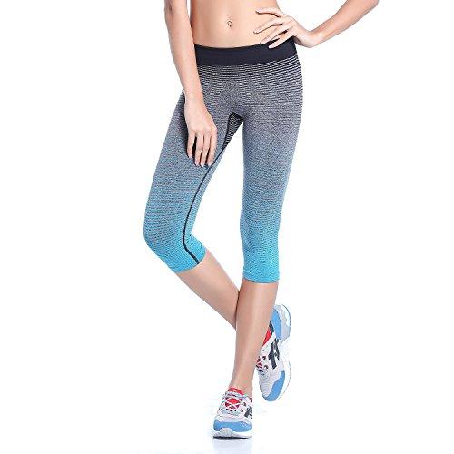 Das Leben Yoga Pantalones Corto para Mujer Legging Deportivo para Corr