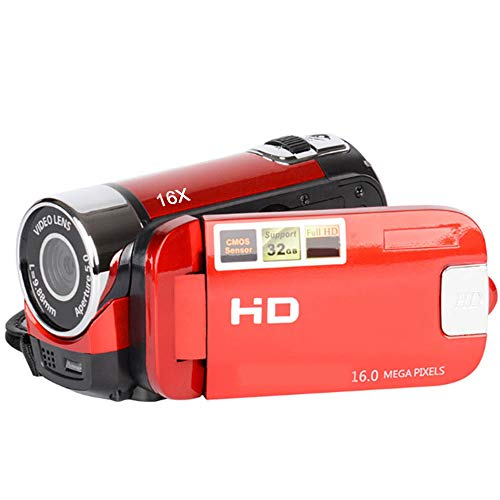 Springdoit-Fotocamera-digitale-Full-HD-1080P-DV-DV-Zoom-digitale-USB-Camera-DVR-Night-Vision-Outdoor-Rosso