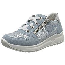 Superfit Girls' Merida Low-Top Sneakers, Blue (Hellblau 85), 2 UK