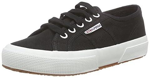 Superga 2750-Cotu Classic, Sneakers Basses Unisexe adulte, Noir - Black (F83), 38