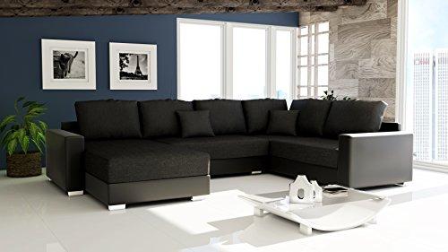 Sofa Couchgarnitur Couch Sofagarnitur STY 300 U Polstergarnitur Polsterecke Wohnlandschaft mit Schlaffunktion