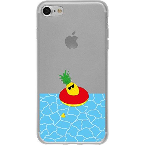 PhoneNatic Apple iPhone 8 Custodia in Silicone estate M5 Case iPhone 8 + pellicola protettiva Motivo:02