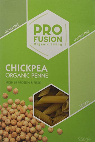 Profusion Organic Chick Pea Penne 250g (Pack of 6)