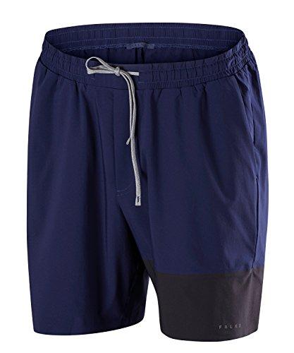 FALKE Herren Woven Shorts Men Sportbekleidung, Dark Night, L