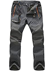 Geval Windproof extérieure Séchage rapide Respirant Escalade Randonnée Pantalons pour hommes