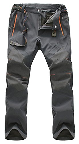 Geval Arrampicata Escursioni pantaloni antivento esterna di secchezza rapido traspirante da uomo Grigio